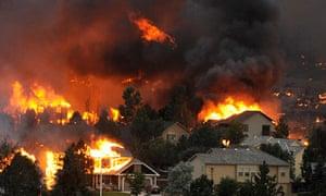 colorado springs wildfires