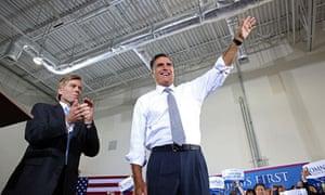 Mitt Romney Campaigns VA