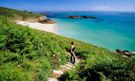 Belvoir Bay on Herm Island, Channel Islands