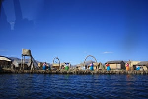 Your Pictures: A welcome from the inhabitants of the Floating Islands, Uros, Lake Titicaca