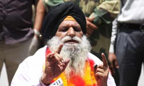Released Indian man Surjeet Singh