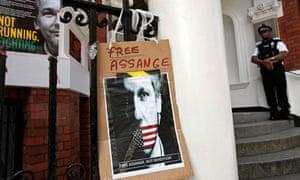 Assange political asylum