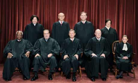 Justices of the US supreme court