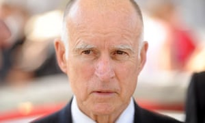 California Governor Jerry Brown attends a celebration at Tesla's factory in Fremont