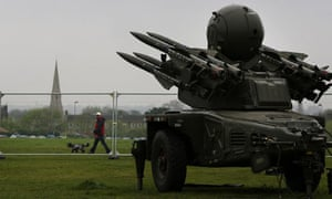 Olympics missile air defence systems