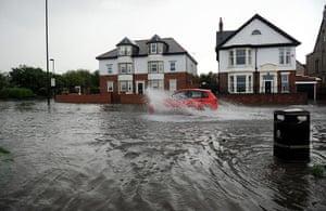 UK Flooding: Summer weather - June 28th