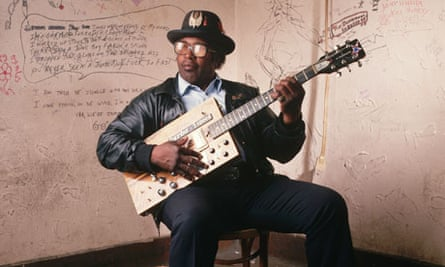 Bo Diddley with His Guitar