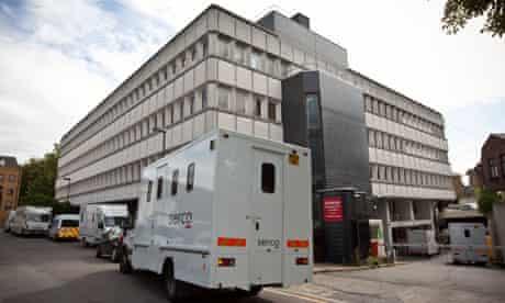 Highbury Corner magistrates court on 10 August 2011