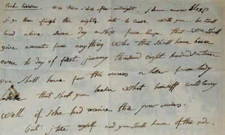 napoleon letter mistakes