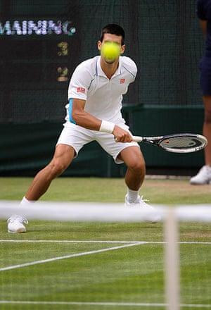 Day 5 Wimbo: Djokovic at Wimbledon 2012
