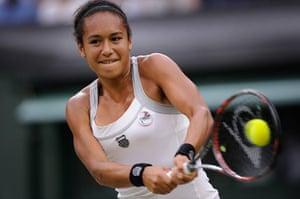 Day 5 Wimbo: Heather Watson at Wimbledon 2012