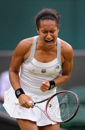 Day 5 Wimbo: Watson at Wimbledon 2012