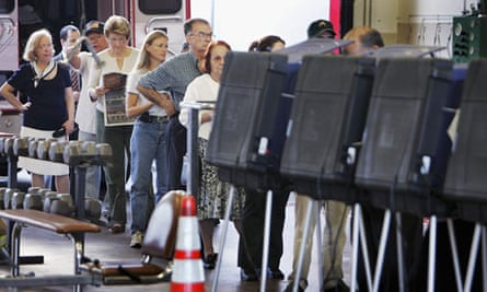 Florida Voters Go To The Polls