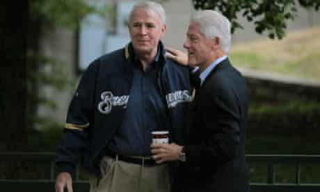 Bill Clinton in Wisconsin