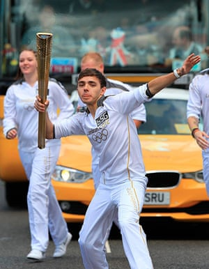 Olympic Torch relay: Day 43 - Olympic Torch Relay