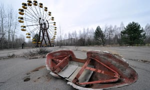 Pripyat, Ukraine, near the site of the Chernobyl nuclear disaster.