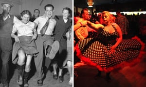 Knees-up, 1951 and 2011