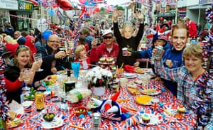 Diamond Jubilee day 2: A street party to commemorate at Ashby De La Zouch, Leicestershire