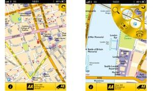 AA London Map