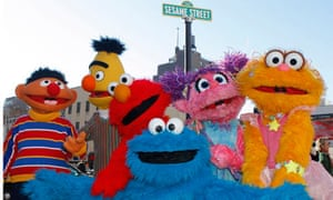 haracters from Sesame Street