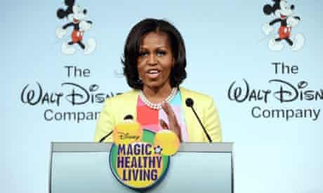Michelle Obama Disney advertising