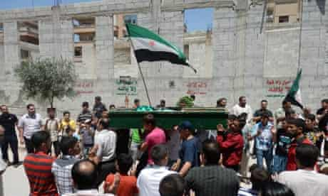 Yasser Raqiyeh Aleppo funeral
