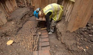 Remains of Shakespeare's Curtain theatre are uncovered in Shoreditch, London