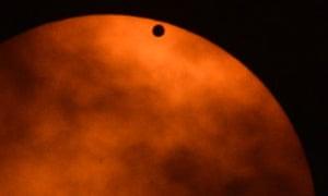 Venus transit Manhattan