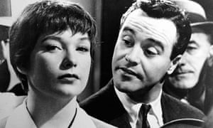Shirley MacLaineand Jack Lemmon in The Apartment