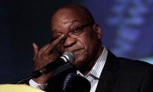 South African President Jacob Zuma June 2012
