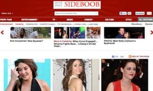 Huffington Post sideboob