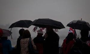 Rain at the diamond jubilee
