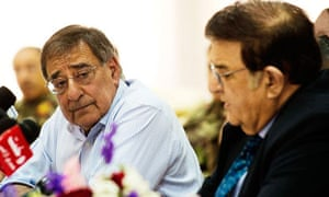 Leon Panetta in Afghanistan