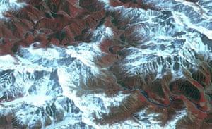 Satellie Eye on Earth: The Yarlung Zangpo Grand Canyon