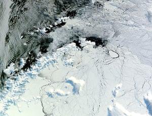 Satellie Eye on Earth: Antarctic Peninsula