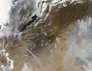 Satellie Eye on Earth: The spring fire season was well underway in southern Siberia
