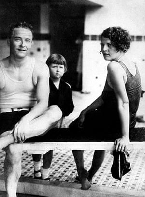 Gatsby: F Scott Fitzgerald and his wife, Zelda, with daughter Frances in 1927
