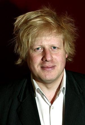 Boris's bad hair days: Boris Johnson byline.