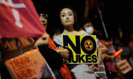 anti-nuclear power rally