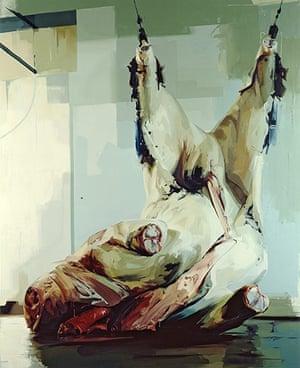 Jenny Saville: Torso II, 2005