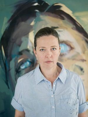 Saville: Artist Jenny Saville in her Oxford studio