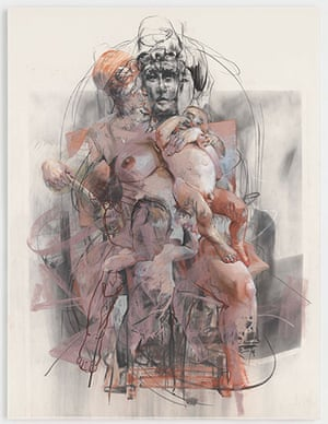 Saville: Study for Isis and Horus, 2011