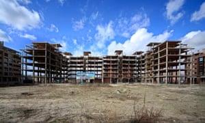 Spain housing construction boom
