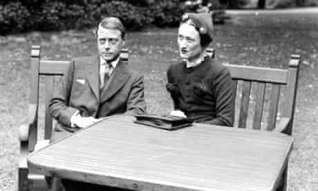 Duke of Windsor (Edward VIII) with Wallis Simpson, France, 1937