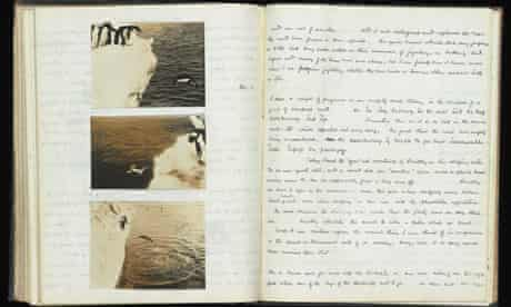 Dr George Murray Levick's notebook