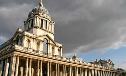The Old Royal Naval College at Greenwich