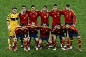 sport4: (from top left) Spanish goalkeeper Iker