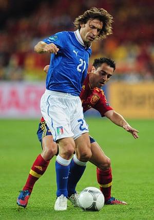 sport10: Spain v Italy - UEFA EURO 2012 Final