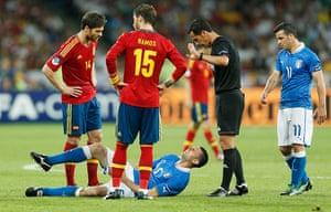sport14: Spain v Italy - UEFA EURO 2012 Final