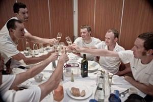 Wiggins: Team Sky riders